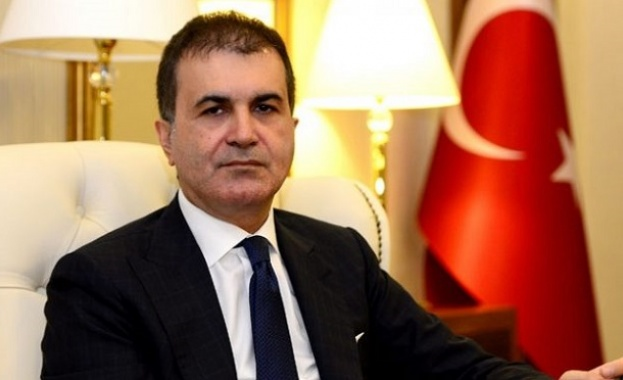 Турският министър за ЕС Омер Челик заяви, че Анкара е