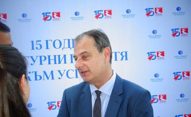 """Алексиос Атанасопулос: Стъпка по стъпка ще направим """"ЕКО България"""" № 1"""
