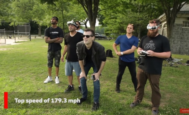 Дрон влезе в Гинес с рекордните 263 км/ч (видео)