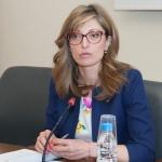 Екатерина Захариева: Душата си е душа, територията на държавите е ясна