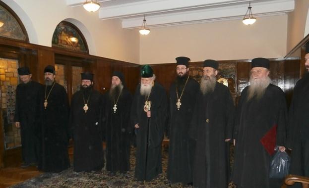 Монасите от Света Гора се срещнаха днес с Негово Светейшество