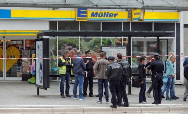 Нападателят от Хамбург, който снощи уби един и рани шестима