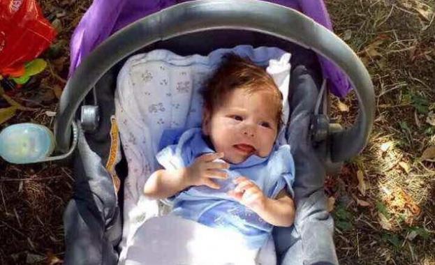 Сигнал за оставено без надзор бебе на детската площадка, в