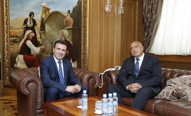 Министър-председателят Бойко Борисов разговаря с премиера на Република Македония Зоран