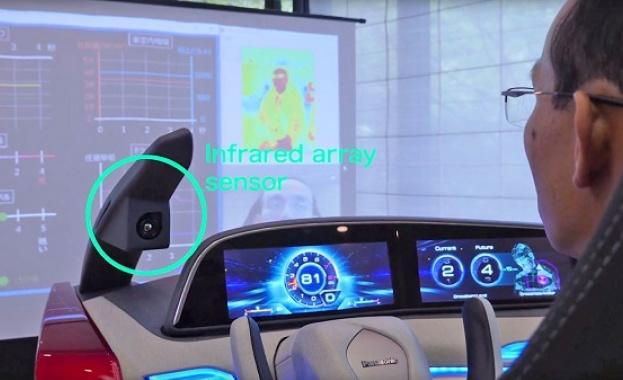 Изкуствен интелект пази шофьора от заспиване (видео)