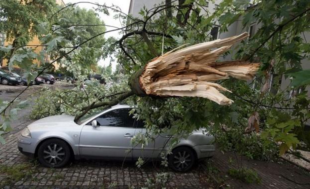 Петима загинаха при ураганни бури в Полша