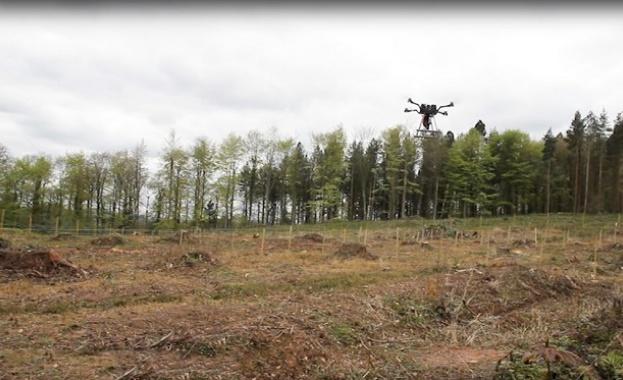За група селяни в Мианмар дроновете не са поредният ексцентричен
