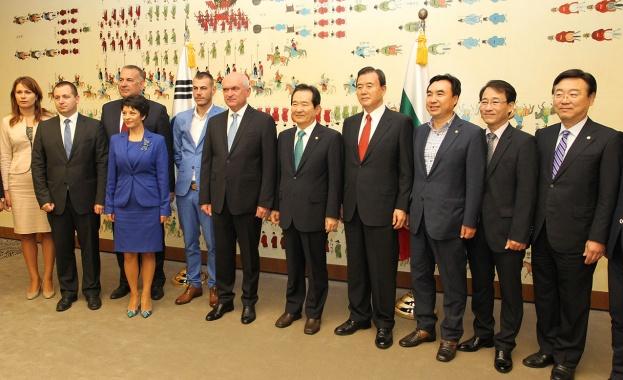 Председателят на Народното събрание Димитър Главчев се срещна с председателя