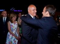 Президентът на Франция Еманюел Макрон на посещение в България
