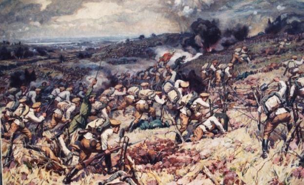 """Резултат с изображение за """"битката при Монтаперто"""""""