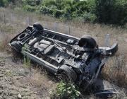 Два тира и товарен бус се удариха на пътя София – Варна