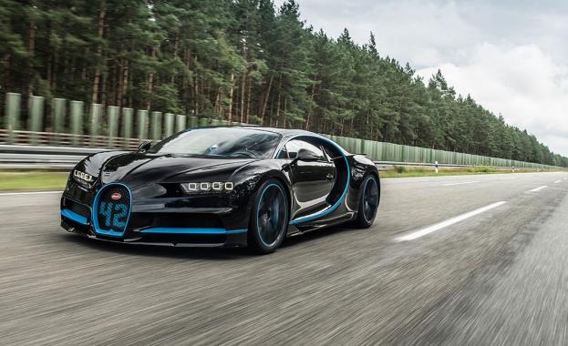 Bugatti Chiron постави световен рекорд за ускорение до... 400 км/ч (ВИДЕО)