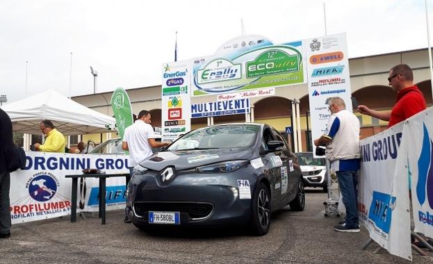 Екипажът Калин Дедиков и Георги Павлов с Renault ZOE завършиха