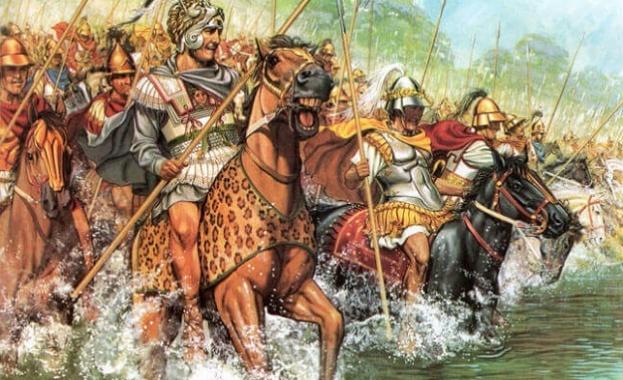 331 пр.н.е. - Големият пълководец Александър Македонски побеждава в Битка