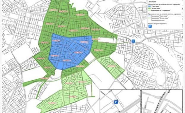 Снимка: Паркирането в Синя и Зелена зона през А1 невъзможно