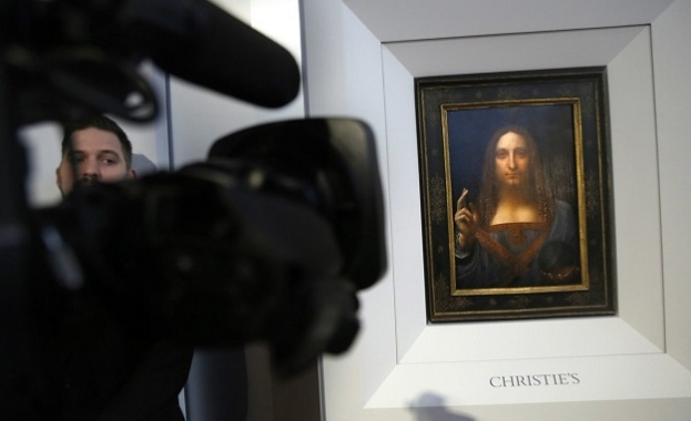 Последната картина на Леонардо да Винчи на търг за 100 млн. долара