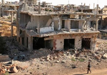 22 души са убити във въздушен удар в Дейр аз Зур