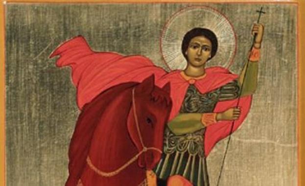 Св. велкикомъченик Димитрий Солунски Мироточиви бил родом от Солун, баща