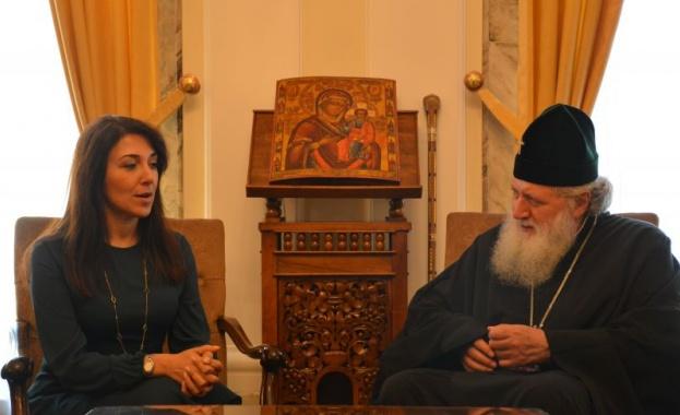Негово Светейшество Българският патриарх Неофит се срещна с посланика на