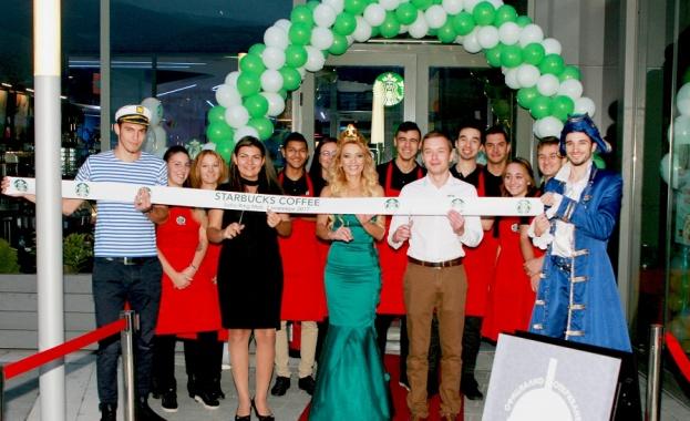 Ново кафене на световноизвестната верига Starbucks, представена в България от