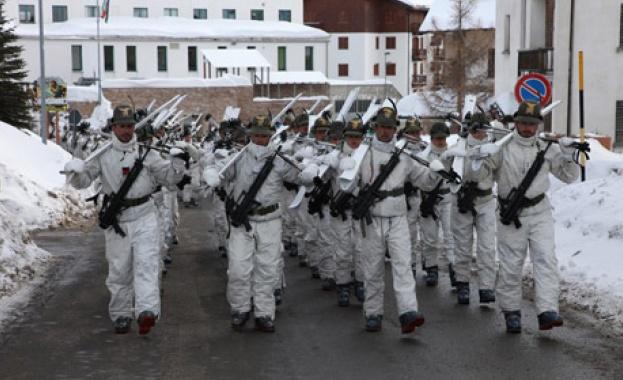 Офицери от Втора планинска бригада на Румъния бяха на четиридневно