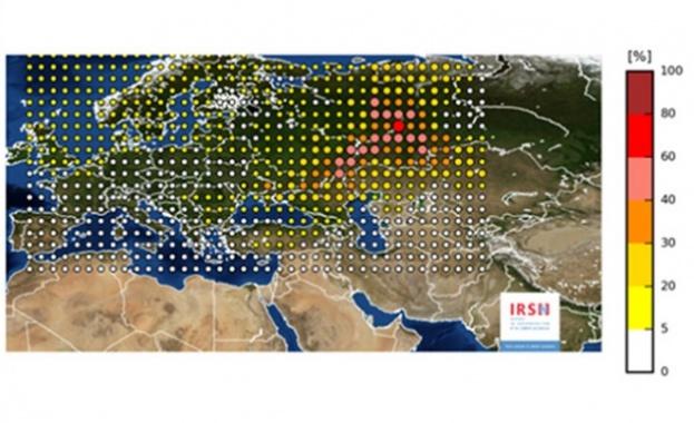 Облак с ниска радиоактивност е преминал над Европа през последните