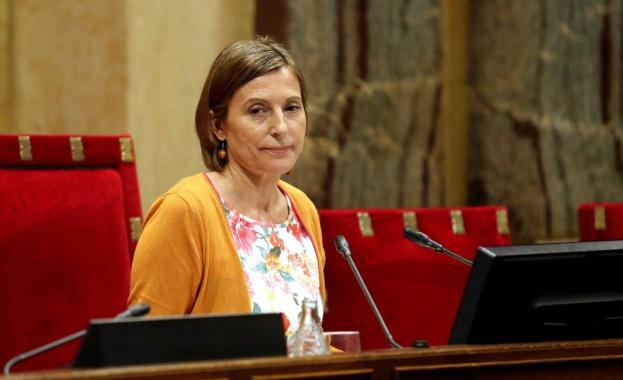 Върховният съд на Испания реши председателката на каталунския парламент Карме