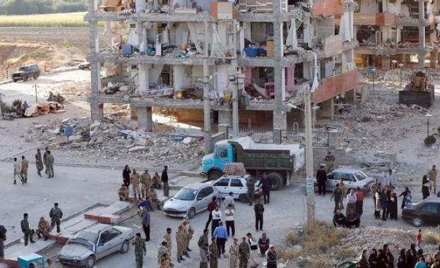 530 станаха жертвите след земетресението в Иран