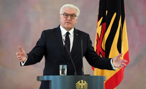 Германският президент: Трябва да се работи за подобряване на отношенията с Русия