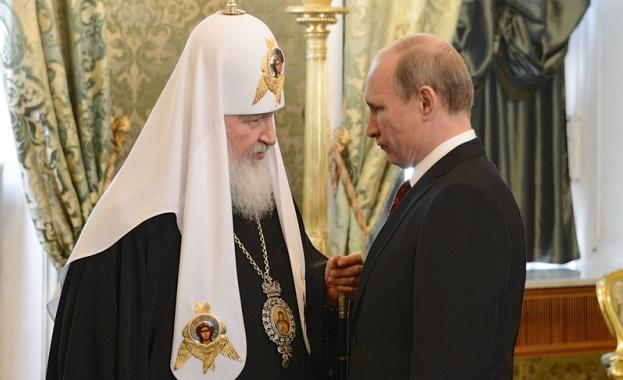 Владимир Путин разчита на помощта на Руската православна църква (РПЦ)