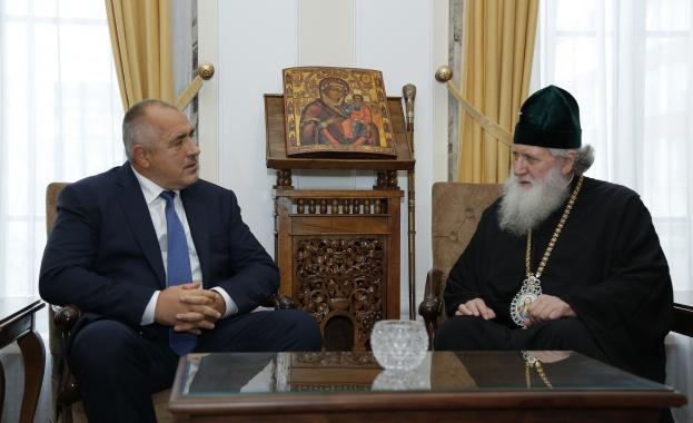 Премиерът Борисов се срещна с патриарх Неофит