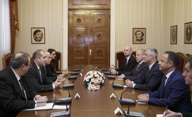 Държавният глава проведе срещи с президентите на Косово и Черна гора