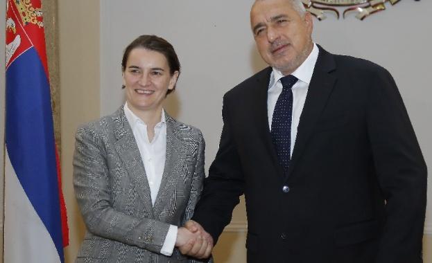 Премиерът Борисов: Ще развиваме инфраструктурните проекти между България и Сърбия