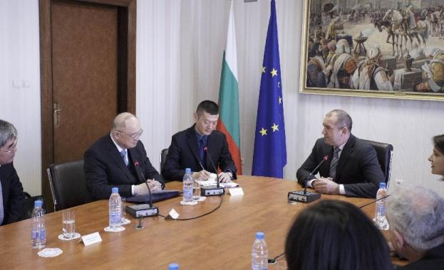 Президентът: Отличните отношения между България и Китай трябва да намерят своя израз и в практически измерения