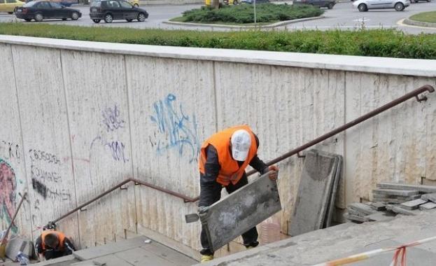 Евакуация на подлез в София