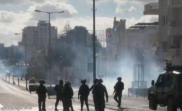 Започна се! Сблъсъци между палестинци и израелски военни в Хеброн