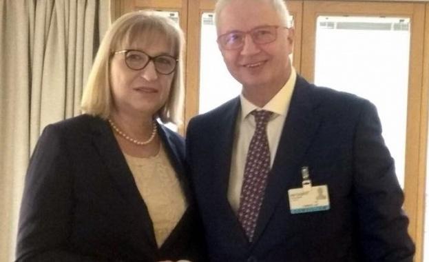 Днес в Брюксел българският правосъден министър Цецка Цачева проведе работна