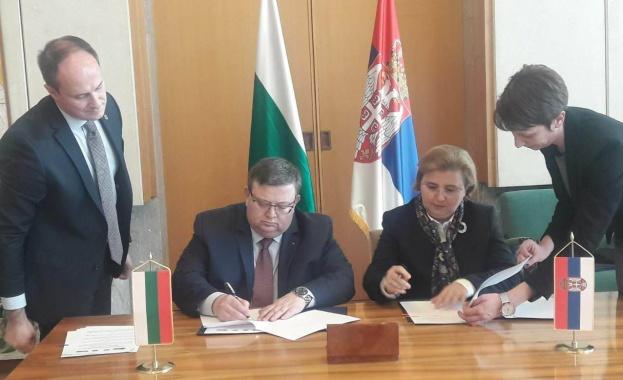 На проведена среща между главния прокурор Сотир Цацаров и сръбския