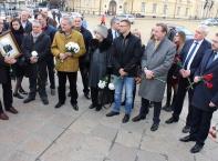 Българо-руска делегация поднесе цветя пред паметника на цар Освободител