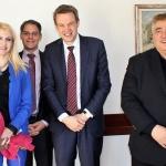 Зам.-министър Ахладова и председателят на Нотариалната камара на Германия обсъдиха дигитализацията на дружественото право