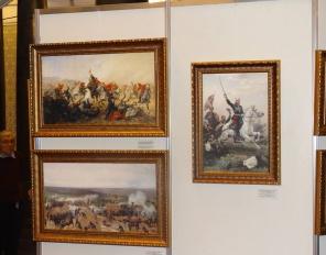 Откриване на изложба посветена на 140-та годишнина от Руско-турската освободителна война