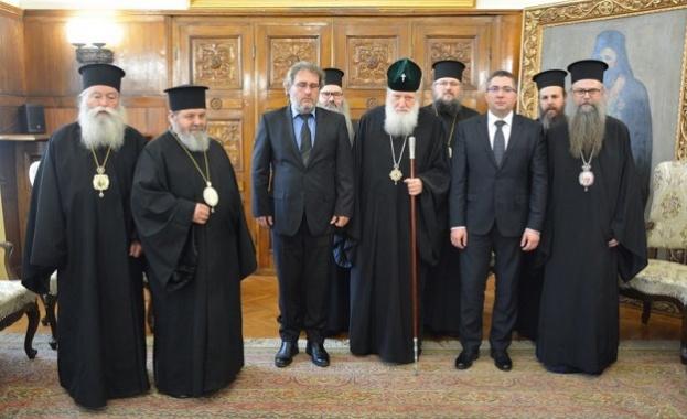 Среща на Светия Синод на БПЦ начело с Негово Светейшество
