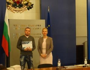 Награждаване на доброволци на ДАЗД от НСА и ПУ