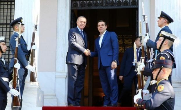 В Гърция арестуваха 9 души, планирали атака срещу Ердоган