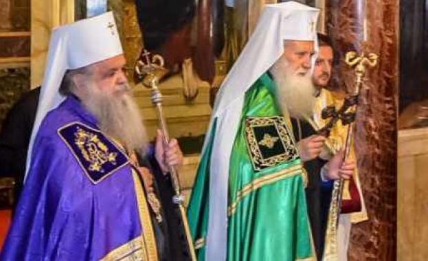 Главата на Македонската православна църква архиепископ Стефан днес (21 декември)