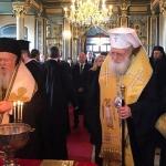 Патриархът: Прекланяме се пред реставраторите и допринеслите за възобновяването на храма
