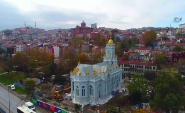 Няма щети в Желязната църква в Истанбул след пороя