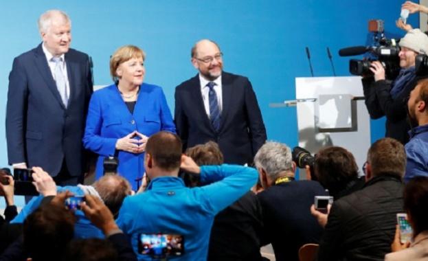 Ангела Меркел се надява Германия да има ново правителство до април