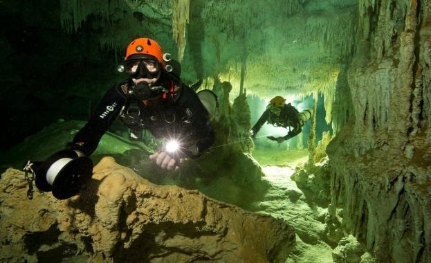 Водолази откриха 348-километров лабиринт от пещери край източното крайбрежие на