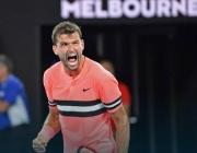 Григор Димитров отпадна от Откритото първенство на Австралия по тенис